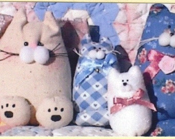 Small Cats Pattern, Just Cats by Janet's Creations