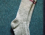 Men's Long Socks,  with  Choice of Colorful Rings