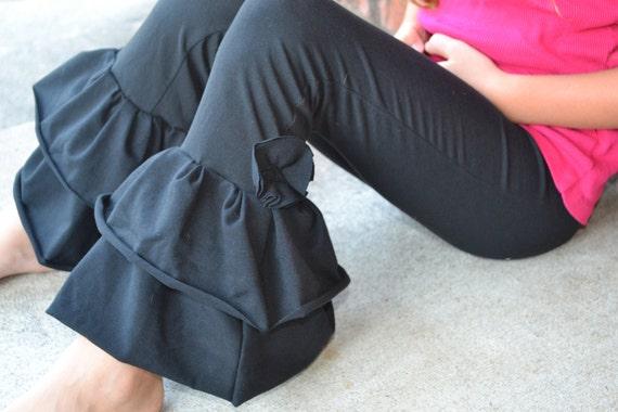 Custom order for  thenook Black Ruffle Pants