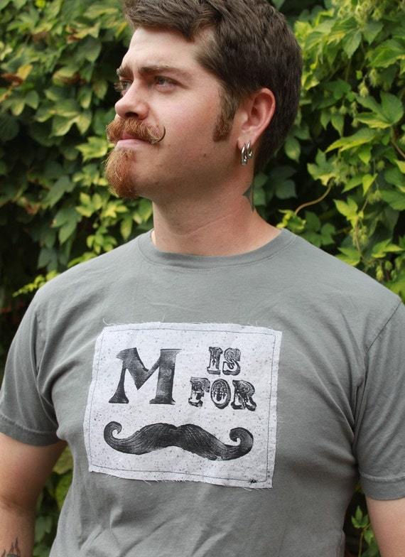 large M Is For Moustache