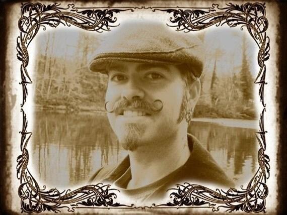 Stiff Moustache Wax- One ounce Sandalwood Vanilla