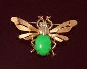 Darling Vintage TRIFARI insect bug Pin