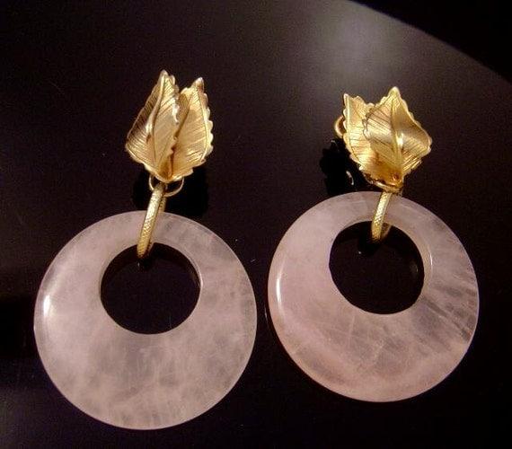 RESERVED   Lovely signed Giovanni hoop Earrings