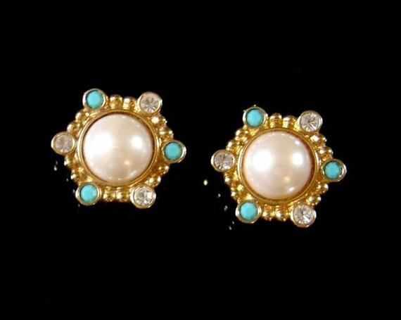 Vintage Jose Barrera for Avon Earrings Roman Holiday