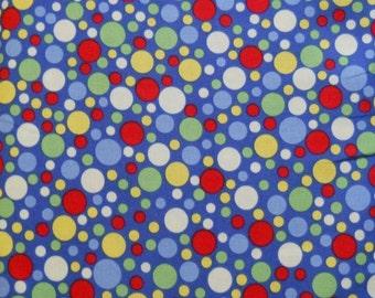 Michael Miller Play Dot Blue fabric
