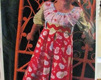 Free shipping -- Kati Cupcake -- Gracie Lou Dress Pattern