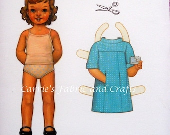 Oliver and S -- School Photo Dress pattern sizes 6 months-4 FREE shipping in US