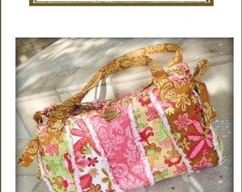 Bohemian Bag Pattern by Lila Tueller Designs -- FREE SHIPPING