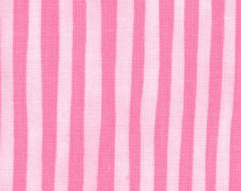End of Bolt 2/3 yards Amelia -- Me and My Sister Floral Stripe Pink      by Moda