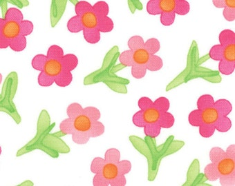 Moda -- Twirl Mini Flower -- Spinning Pink