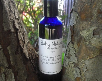 Baby Natural Lavender Baby Oil, 4 oz