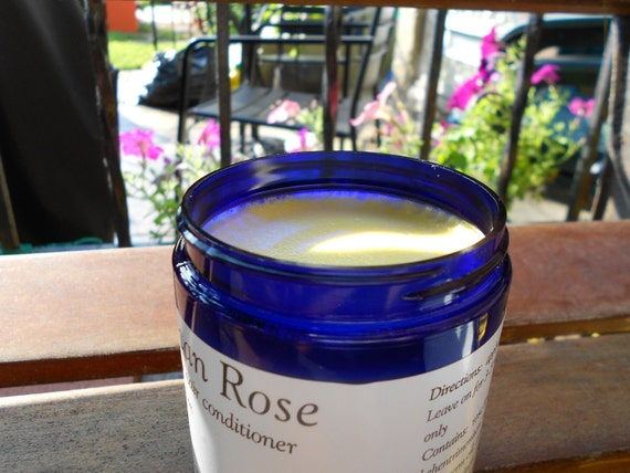 Moroccan Rose Conditioner with pure Argan oil and Organic Rosewater (NEW LOWER PRICE)