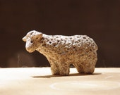 Ceramic sculpture / Sandy Sheep / No.7