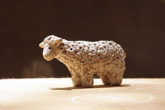 Ceramic sculpture / Sandy Sheep / No.7