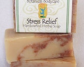 Handcrafted Olive Oil Soap Stress Relief