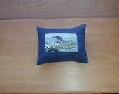 Mini Loon Balsam Fir Pillow   Maine Made