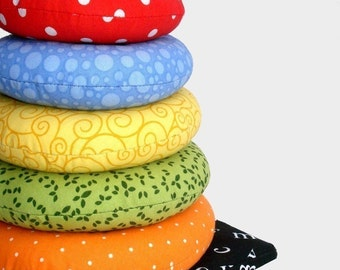 Ring Stacker Soft Toy, immediate download of pdf sewing pattern - free shipping