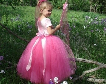 Fairy Princess and Ballerina TuTu, IMMEDIATE DOWNLOAD of PDF sewing pattern