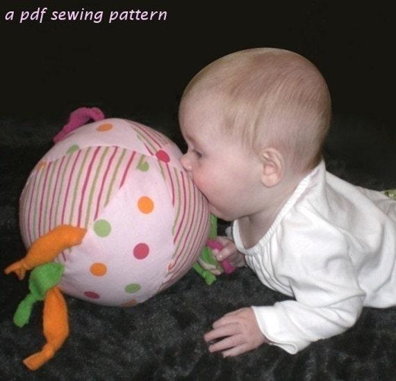Create a Ball a PDF sewing pattern - free shipping