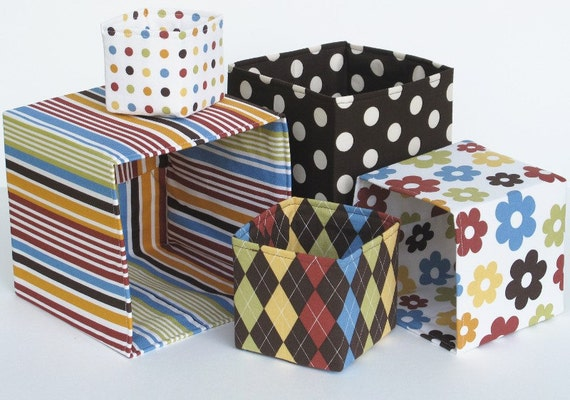 Stacking and Nesting Blocks, a pdf sewing pattern - IMMEDIATE DOWNLOAD