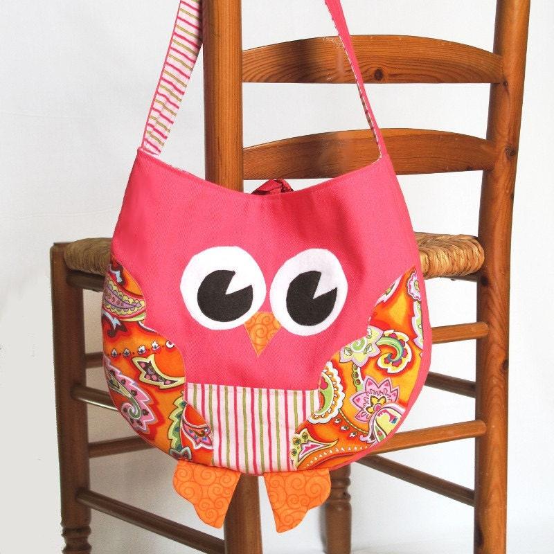 Owl Shoulder Bag Pattern 15