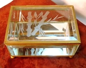 Bamboo Glass Display Box