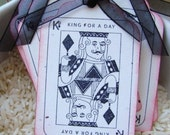 King for a Day All Occasion Gift Tags Set of 6