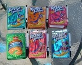 Kool Aid Jammer Juice Pouch Notebook with Pen