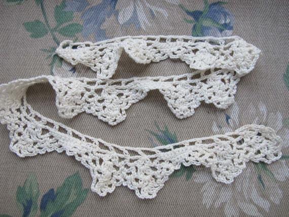 Cotton Crocheted Lace Trim