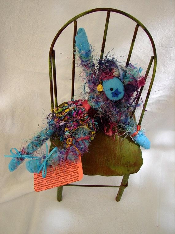 FreeSpirit Art Doll (P3)  Colorful Chaos, Visual Fun, Tactile Delight