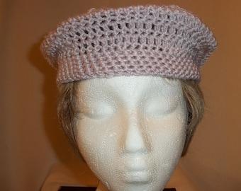 Magdelene Crocheted Beret - Small
