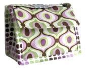 SALE Neoprene - Insulated Eco-Friendly Lunch Bag - Groovy