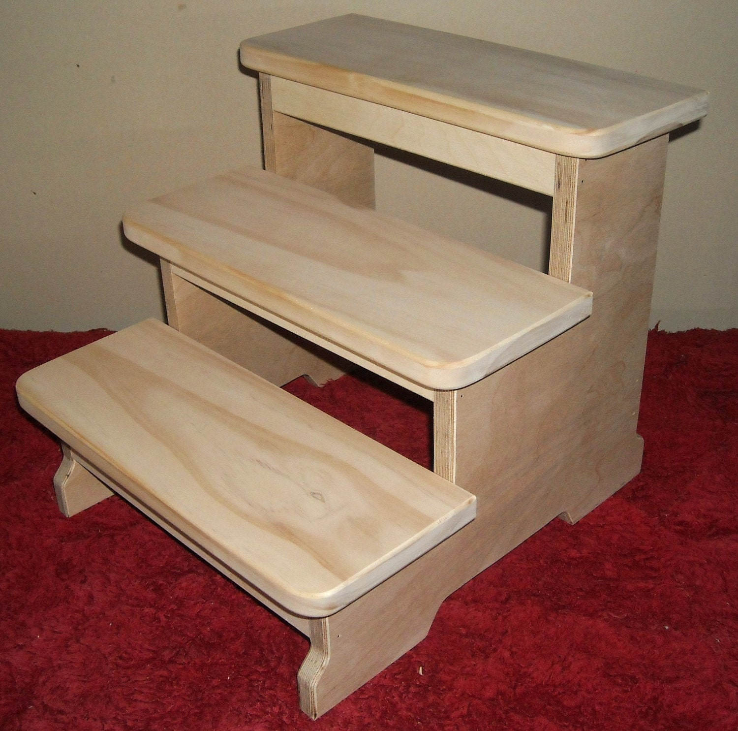 ?zoom & Big Boy 3 Step Stool Sanded Finish islam-shia.org