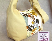 sewing pattern - the everyday bag (PDF for immediate download)