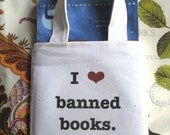 I Heart Banned Books - Paperback Tote
