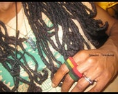 Mama Africa Crochet Ring