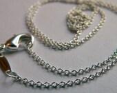 24 inch Rolo Silver Chain