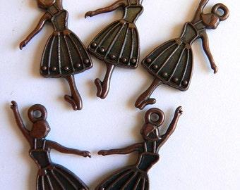 Copper Dancer Charm