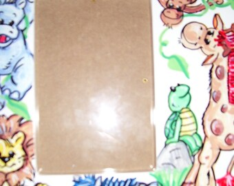 Picture Frame -  Safari Animals - Handpainted and Personalized