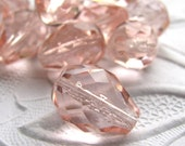 saved for Sarah Lee  -50% off with coupon code LASTCALL - Blush Pink 12mm x 16mm  (5 beads)