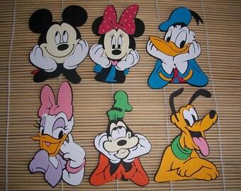 6 Disney friends Die Cuts