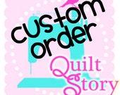 Custom Order for ppeirce