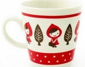 Little Red Riding Hood Ceramic Coffee Cup
