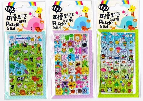 puzzle stickers