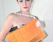 Sunshine rubber clutch bag