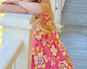Spring 2013 Kumari Gardens Sundress Boutique Custom 12m, 2t, 3t, 4t, 5, 6