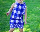 Summer 2012 Pillowcase Dress Purple Custom Size 12m, 2t, 3t, 4t, 5, 6