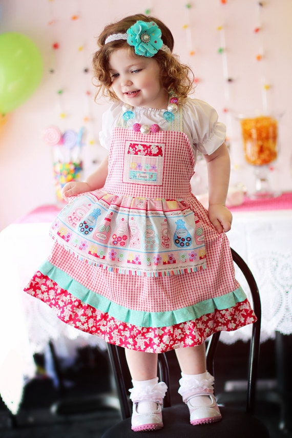Sweet Shoppe Dress Boutique Custom Size 12m, 2t, 3t, 4t, 5, 6