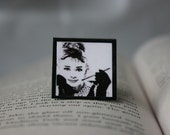 Breakfast at Tiffany's - Square Magnetic Bookmark