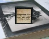 Bookworm, Bookish - Magnetic Square Bookmark